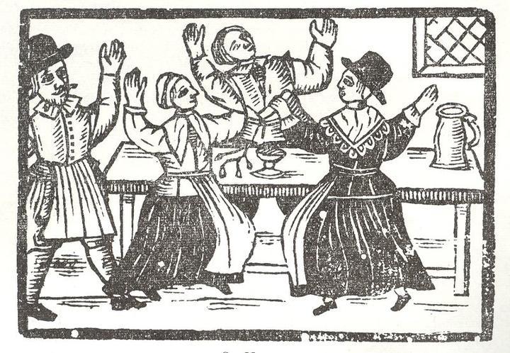 Illustration from Hell Broke Loose, pub 1651
