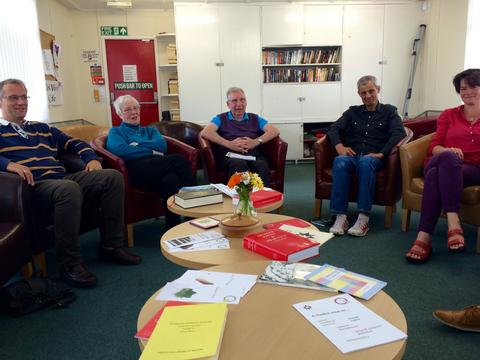 Polmont Quakers at Meeting