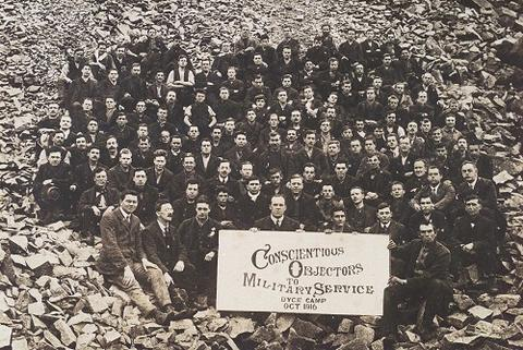 Quakers mark century of the right to refuse to kill